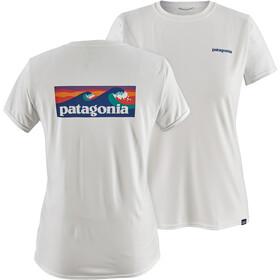 Patagonia Capilene Cool Daily Graphic Shirt Women boardshort logo/white
